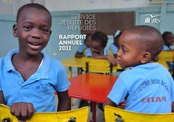 rapport annuel 2011 service jésuite des réfugiés - Jesuit Refugee ...