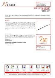 H07Z1-R (FQ) 450/750 V - Nexans