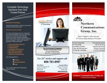 Northern Communications Group, Inc. - Business Telephone ...
