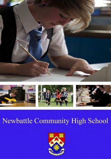 Download the School Handbook - Newbattle Community High School