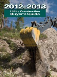 Buyer's Guide - Utility Contractor Online