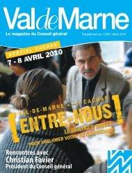 Magazine ValdeMarne spécial Cachan - Conseil général du Val-de ...