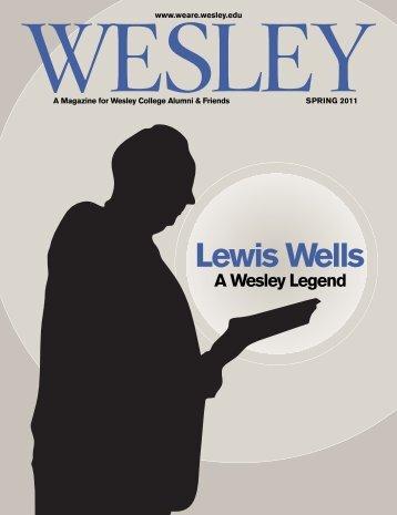 WESLEY SPRING 2011 - Wesley Magazine - Wesley College