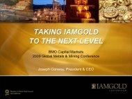 View this Presentation (PDF 1.33 MB) - Iamgold