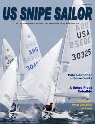 Spring 2007 - United States Snipe Sailing