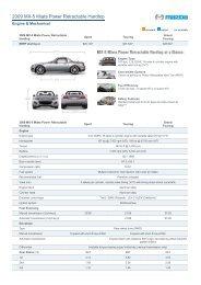2009 MX-5 Miata Power Retractable Hardtop - Mazda
