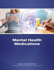 Mental Health Medications - NIMH - National Institutes of Health