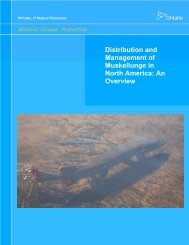 Distribution and Management of Muskellunge in North America