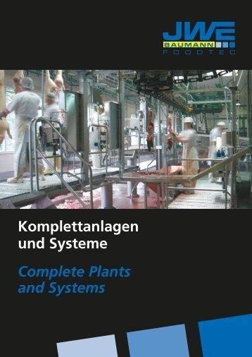 Gesamtprospekt Komplettanlagen - JWE-Baumann GmbH
