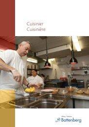 Cuisinier Cuisinière - Stiftung Fondation Battenberg