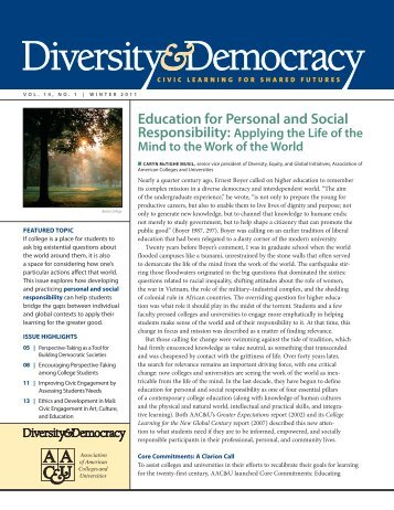 Download our print issue (PDF) - DiversityWeb