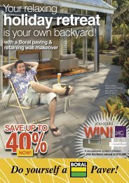 With A Boral Paving & retaining wall Makeover - Backyard Inspirations