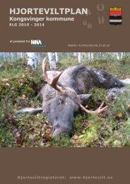 Eksempel på hjorteviltplan for elg (Kongsvinger ... - Naturdata AS