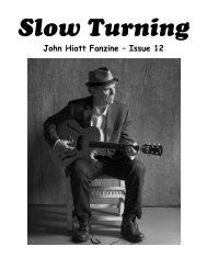 John Hiatt Fanzine – Issue 12 - The John Hiatt Archives