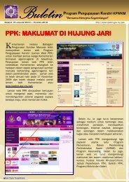 buletin ppk edisi 2- 2010 - kpwkm