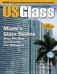 July 2009 - USGlass Magazine