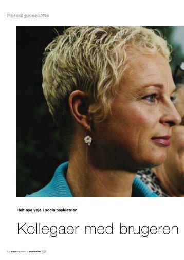 [pdf] Kollegaer med brugeren - Ergoterapeutforeningen
