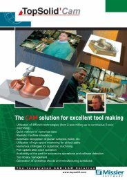 The CAM solution for excellent tool making - TopSolid