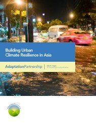 Building Urban Climate Resilience in Asia - ICMA