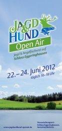 Besucherprospekt JAGD & HUND Open Air 2012 ... - Westfalenhallen