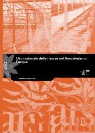 Uso razionale delle risorse nel florovivaismo: l'acqua - Demetra