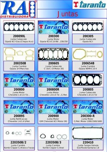 406 A 423-TARANTO JUNTAS - Radistribuidora.com.br