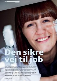 Ph.d.: - Pharmadanmark