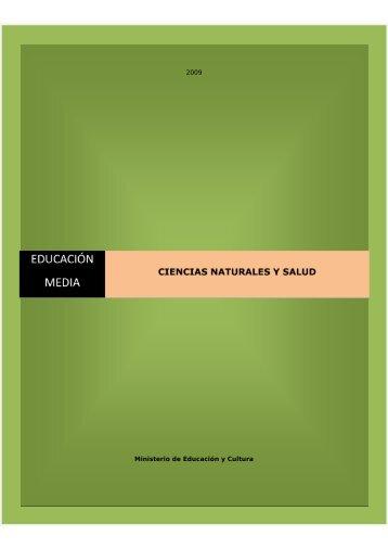Educación Media - Ciencias Naturales y Salud - Ministerio de ...