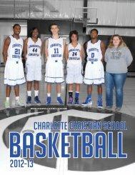 2012-13 Basketball Media Guide - Charlotte Christian School