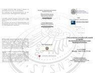 Programma - Libera Università di Bolzano