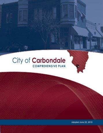 Comprehensive Plan - Carbondale, IL