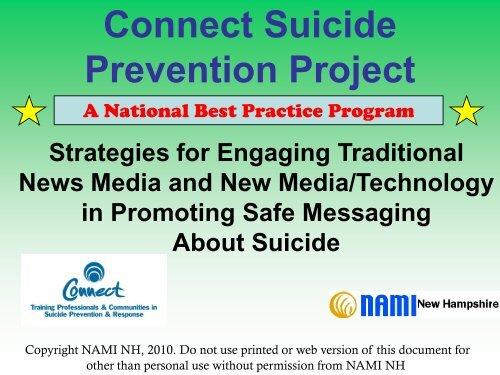 Connect Suicide Prevention Project - Lane County Public Health