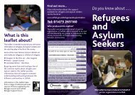 2011-11-10 Mythbusting Asylum Leaflet web - Suffolk County Council
