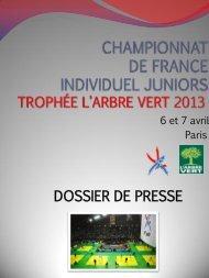 dpresse 2013.pdf - Fédération Française de Judo