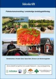 Fisketurismutveckling i småskaliga landsbygdsföretag