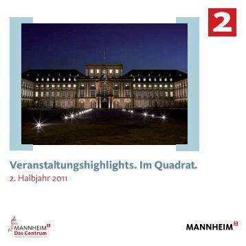 Sie feiern? - Tourist Information Mannheim