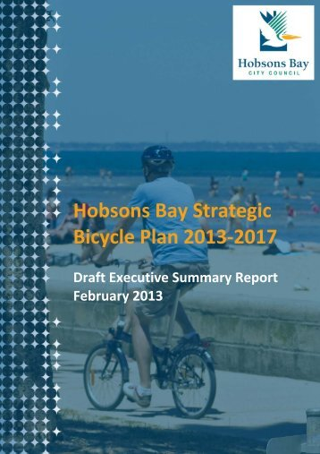 Hobsons Bay Strategic Bicycle Plan 2013-2017
