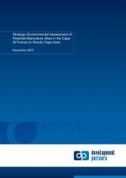 SEA documents - Eastern Cape Development Corporation