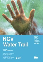 NGV Water Trail (453.0 KB PDF) - National Gallery of Victoria