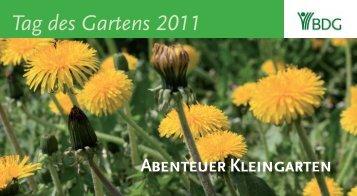 Tag des Gartens 2W77 - Bundesverband Deutscher Gartenfreunde ...