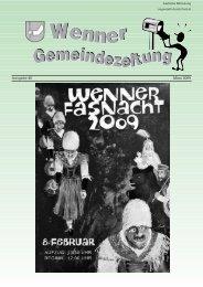 Ausgabe 40 März 2009 - Wenns