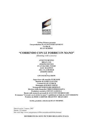 """""""CORRENDO CON LE FORBICI IN MANO"""""""
