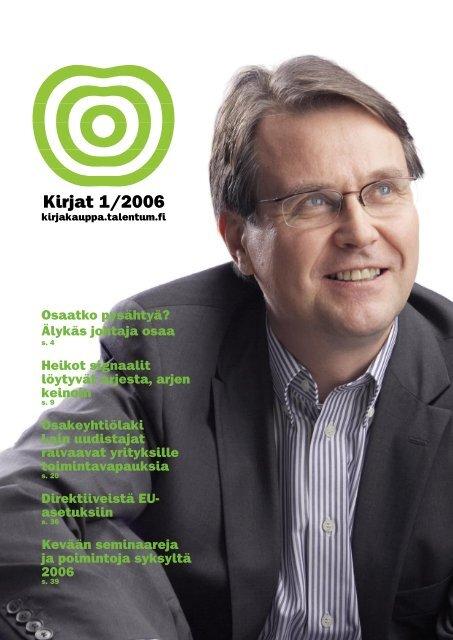 Kirjat 1/2006 - Talentum