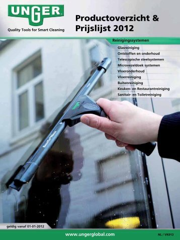 Quality Tools for Smart Cleaning - Unger