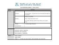 FA2 PORTIONS GRADE 2 (2013-2014) - JSS Private School