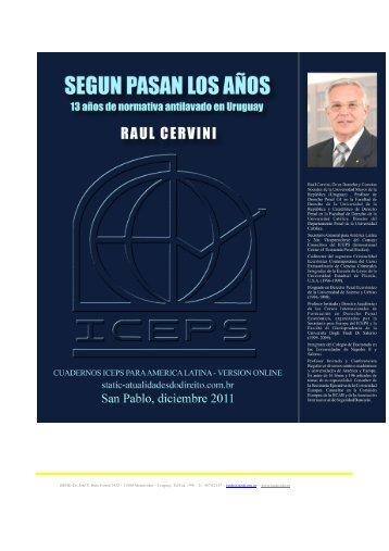 EVOLUCIÓN DE LA LEGISLACIÓN ANTILAVADO EN EL URUGUAY