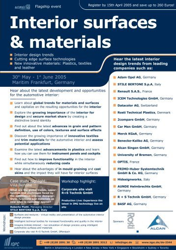 Interior surfaces & materials - Mgxa.com