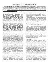 L'accord de licence d'utilisateur final HP - Hewlett-Packard France ...