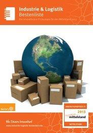 Bestenliste Industrie & Logistik - IT-Bestenliste