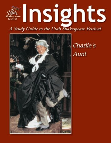 Charlie's Aunt - Utah Shakespearean Festival